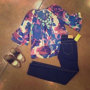 Diane von Furstenberg Tops - DVF silk blouse 🎀💐