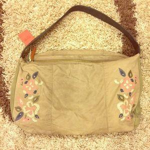 Light Brown Weekend Bag