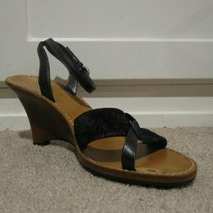Cole Haan Sculpted Wedge Heels Size 7.5