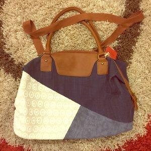 Blue Jean Weekender Bag