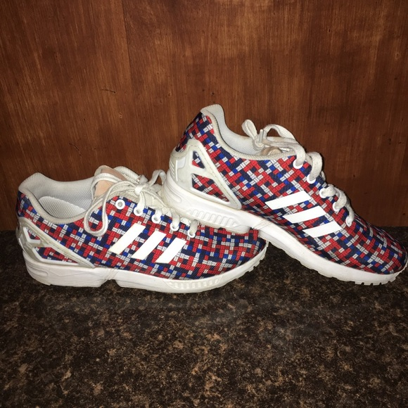 e195ef8b7271 Adidas - Used Adidas ZX FLUX SHOES - 7 to 7.5 in men s from ...