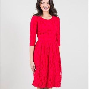 Downeast Basics Dresses & Skirts - Leafy Lacey Dress from Downeaster Basics