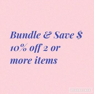 Other - Bundle & Save! Buy three plus items & get a gift!