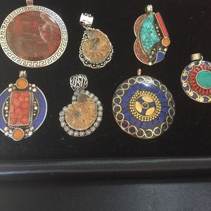 Jewelry - Rare collection of pendants