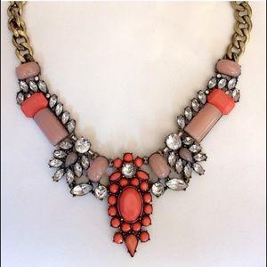 Jewelry - Beautiful Coral/Orange/ Blush Necklace- 20 inch❤️
