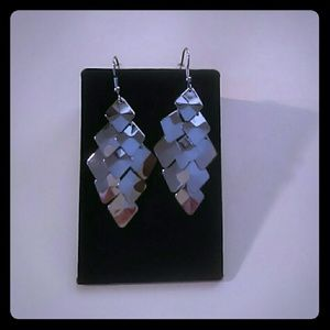 Chandelier surgical steel earrings