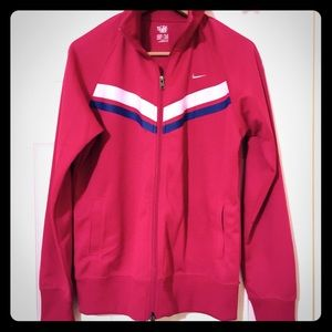 Nike knit ponte jacket