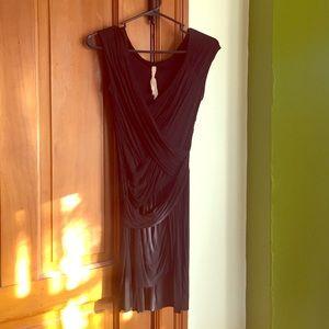 ❤️B44 Dressed little black dress