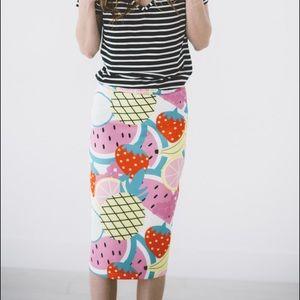 MMM • Fruit Salad Skirt!