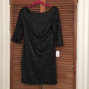 Black sequined Jessica Simpson dress