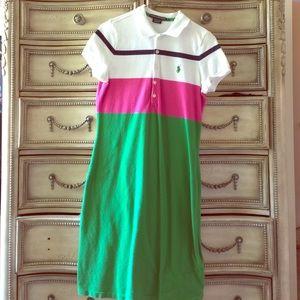 Sporty dress by Ralph Lauren 