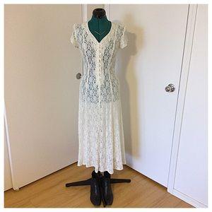 90's Lace Dress MAKE ME AN OFFER