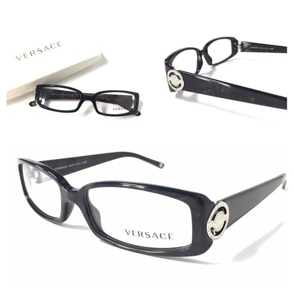 53267bf39f37 VERSACE Women s Eyeglasses NWOT Marble Black. M 581f5512680278e07b06f8fb