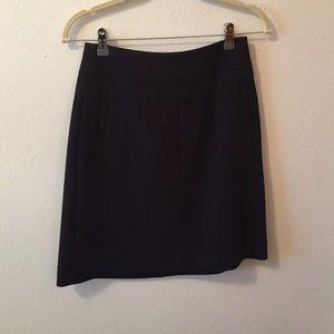 Black banana republic skirt.