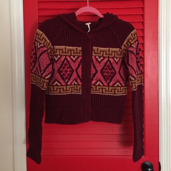 c69cd072bf13c3 Free People fair isle hoodie