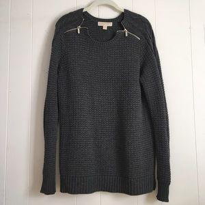 MICHAEL Michael Kors Zipper Sweater