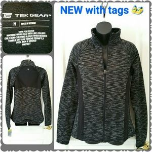 tek gear Jackets & Blazers - *SALE* NEW Tek Gear jacket w/ thumb-holes!