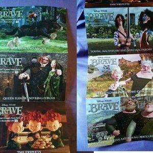 Brave post cards