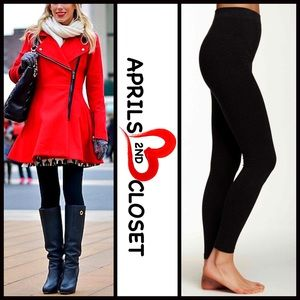 Boutique Pants - ❗1-HOUR SALE❗FLEECE LINED LEGGINGS FOOTLESS TIGHTS