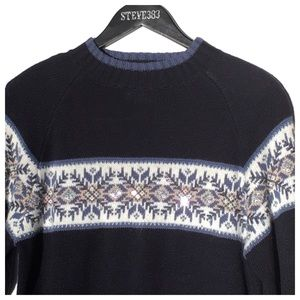 Christopher & Banks Sweaters - ❄️ snowflake sweater ❄️ navy, Christopher & Banks