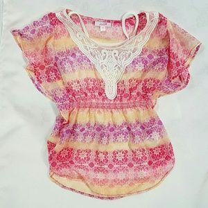 Grane Other - GIRLY GIRL FLOWY TOP