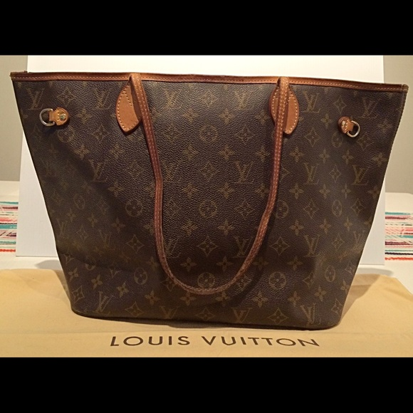 82292b77ec6b Louis Vuitton Handbags - Louis Vuitton Monogram Neverfull MM (Vintage)