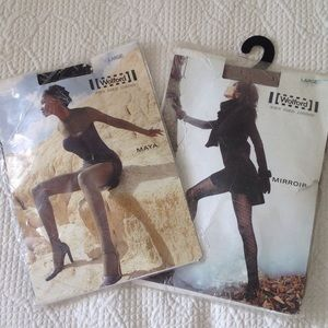 Wolford  Accessories - 2pair of WOLFORD tights, size L, MAYA & MIRROIR