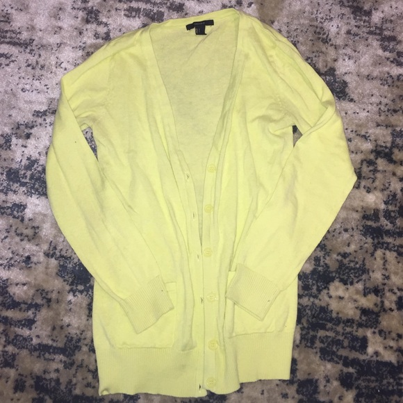 Forever 21 Sweaters - Flash Sale! Neon Boyfriend Cardigan