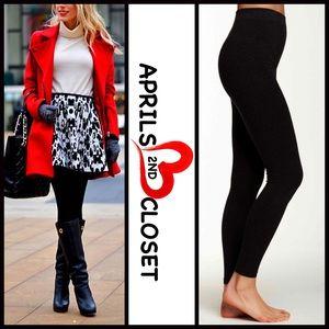 Boutique Pants - ❗1-HOUR SALE❗SEAMLESS LEGGINGS Black Microfiber