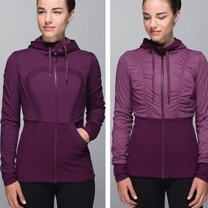Reversible dance studio jacket