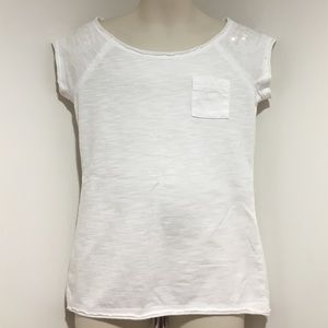 Cherokee Other - GUC Girls XS Off the Shoulder Style White Shirt