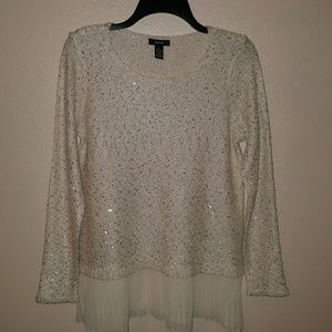 Alfani  Sweaters - Last Call Donating Alfani Sparkling Sequin Sweater