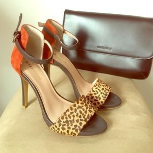 Sole Society Leopard Heels