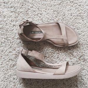 Ann Demeulemeester Shoes - 💯Ann Demeulemeester Suede T Strap Sandals