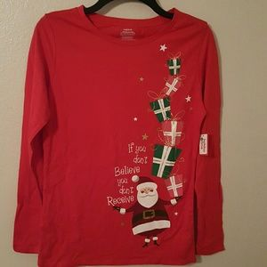Tops - Christmas T-shirt If you don't believe NWT