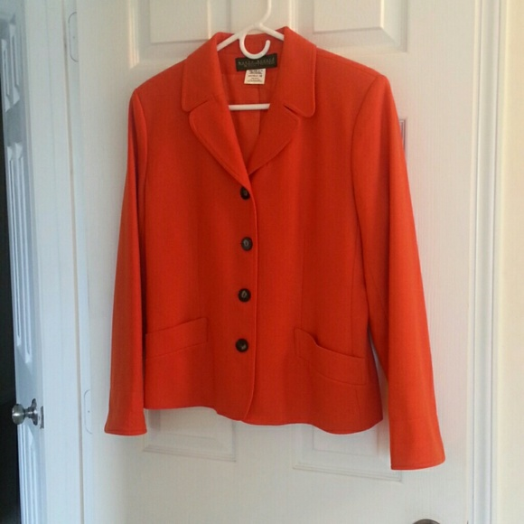 Harve Benard orange blazer