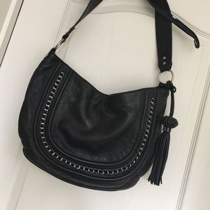 Handbags - Black leather bag