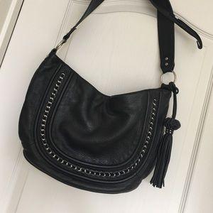 Handbags - Black leather bag