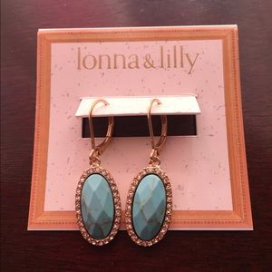 lonna & lilly Jewelry - Ionna & Lilly turquoise earrings