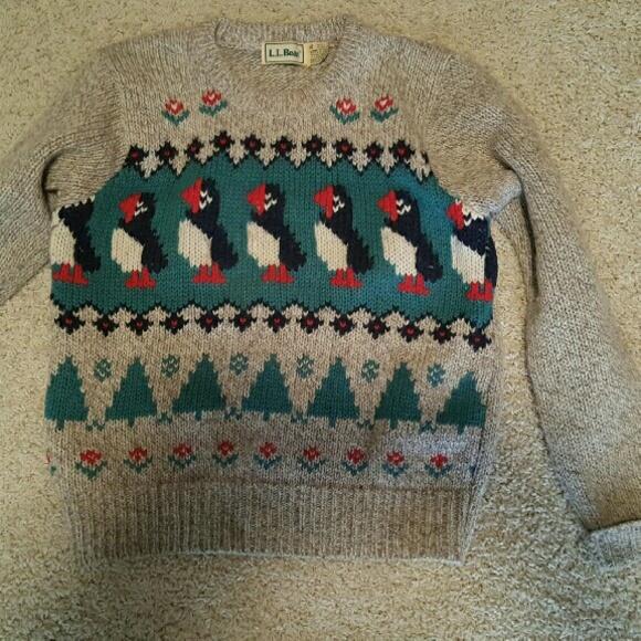 Llbean Sweaters Bean Puffin Sweater Poshmark