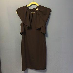 H&M black dress. Cocktails or work.