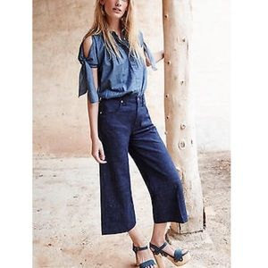 7 For All Mankind Denim - Seven For All Mankind Cropped Flares