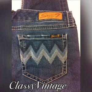 Seven7 Denim - Seven straight leg jeans