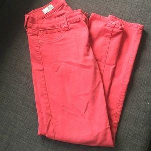 GAP coral legging jean