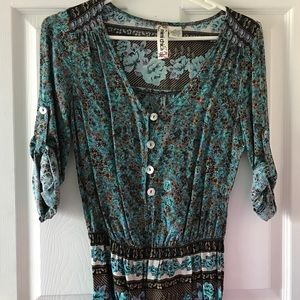 Mimi Chica Other - Long Sleeve or Quarter Sleeve Romper- Brand New