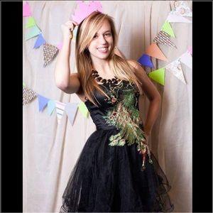 Nasty Gal Dresses & Skirts - 🔑Host Pick🔑Peacock Tulle Ballerina Party Dress
