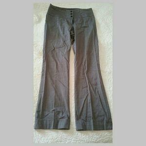 Sz 8 H&M Gray Work Slacks Pants