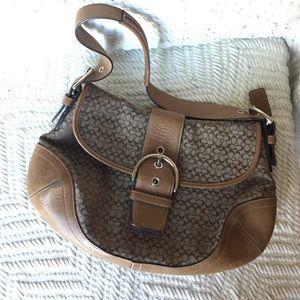 Coach Handbags - COACH logo shoulder bag.