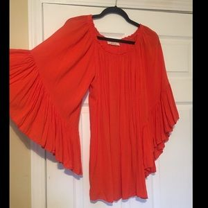 Nolah Elan Dresses & Skirts - ʙᴏℏᴏ🌺 {Bell Sleeves} Tunic/Mini Dress☽