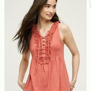 NWT Anthropologie ruffle blouse